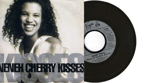 """Neneh Cherry - Kisses on the wind - 7"""" vinyl single from 1989"""