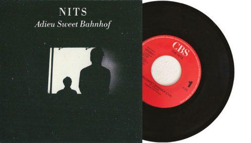 "The Nits - Adieu Sweet Bahnhof - 7"" vinyl single from 1989"