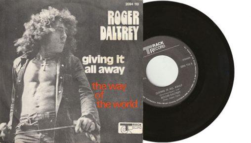 "Roger Daltrey - Giving it all away - 7"" vinyl single from 1973"