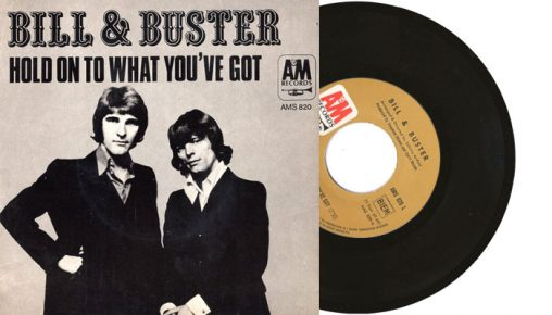 """Bill & Buster - Hold On To What You've Got - 1971 7"""" vinyl single"""