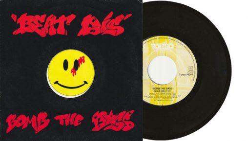 "Bomb The Bass - Beat Dis - 7"" vinyl single"