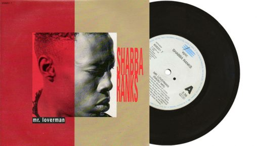 "Shabba Ranks - Mr. Loverman - 1992 7"" vinyl single"