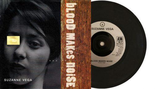 "Suzanne Vega - Blood Makes Noise - 7"" vinyl single from 1992"