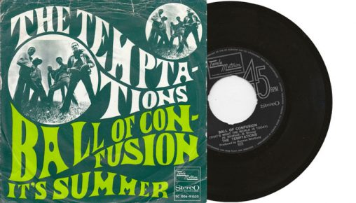 """The Temptations - Ball of Confusion - 1970 7"""" vinyl single"""
