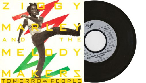 """Ziggy Marley & The Melody Makers - Tomorrow People - 7"""" vinyl single from 1988"""